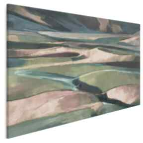 Obraz na płótnie - pole natura horyzont 120x80 cm 700101 vaku