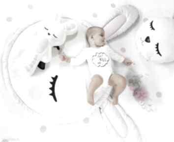 Mata królik 150 cm z poduszką i maskotką pokoik dziecka bliblo