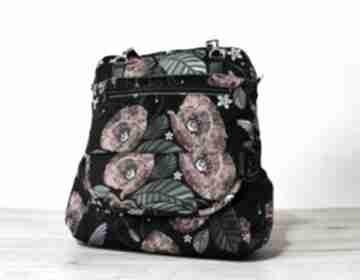 Torebki Niezwykle! maki kwiaty kolibry plecak prezent