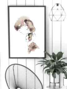 KOFdekoracje-na-ścianę wydruk obraz-na-ścianę plakat-jedna-linia