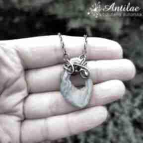 Delikatny naszyjnik z agatem druzą naszyjniki antilae wire