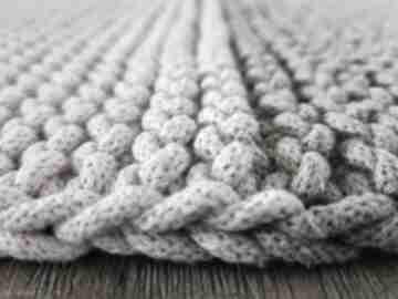 Makkadamia dywanik, dywanik-łazienkowy, bawełna, sznurek
