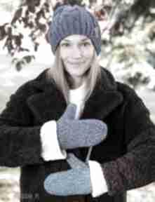 Rękawiczki morskie otchłanie brain inside na zimę, sznurku