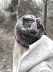 Kolorowa czapka czapki the wool art czapka, nagłowę, pewzent,