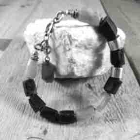 IRART? srebro-oksydowane labradoryt turmalin czarny-turmalin