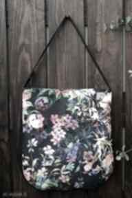 Kwiatowa torba na ramię happyart torebka, miejska torba