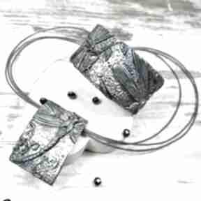 """Komplet biżuterii """"ważki"""" kameleon ważka, biżuteria"""
