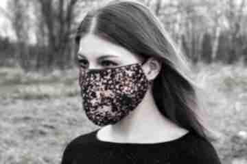 Drukowana maska maseczka we wzór maseczki non tess maseczka