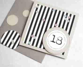 18-te urodziny:: kartka urodzinowa:: confetti kartki kaktusia