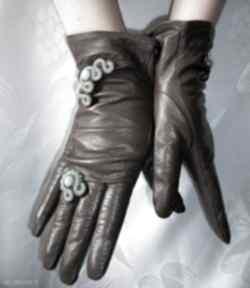 rękawiczki: Rękawiczki ze skóry naturalnej