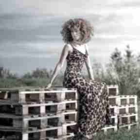 Jennifer maxi - suknia z dekoltem wodą sukienki milita nikonorov