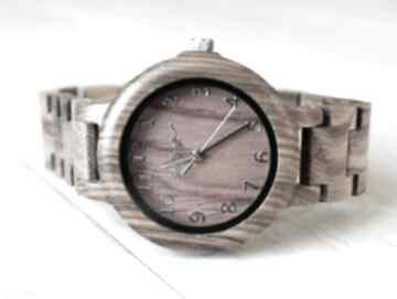 Damski drewniany zegarek seria full wood zegarki ekocraft