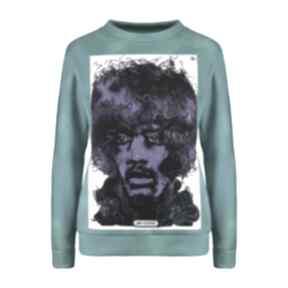 bluzy Bluza z plakatem Jimi Hendrix