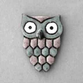 Huu - broszka ceramika broszki kopalnia ciepla minimalizm