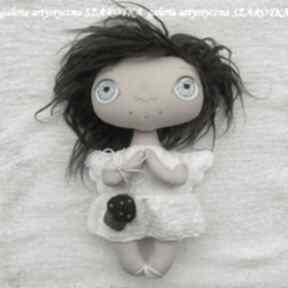 dekoracje. lalka-aniołek lalka-szmacianka lalka-kolekcjonerska