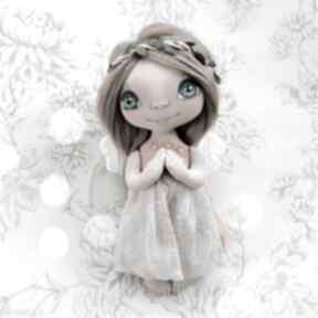E-piet aniołek - dekoracja ścienna figurka tekstylna ręcznie