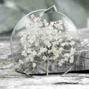 Naszyjnik z kwiatami czarnego bzu z276 naszyjniki herbarium