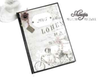 Kalendarz 2015 - romantyczna przejażdżka scrapbooking notesy