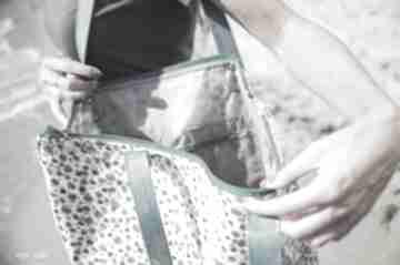 Mana neon kwiatki morski na ramię pracownia torba, worek, folia
