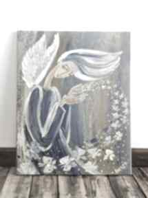 Marina Czajkowskaanioł czułość miłość dom motyl