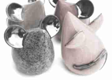Ceramika cerama mysz, ceramika, figurki, zwierzątka