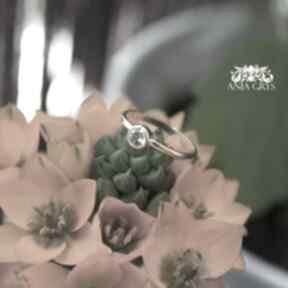 Pierścionek słoneczny anna grys cytryn, pierścionek, pozłacany