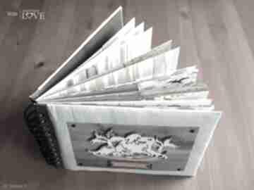 Album na zdjęcia scrapbooking albumy iride handmade album