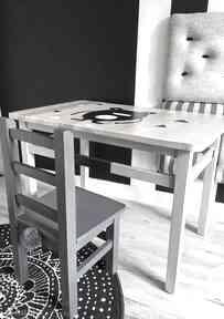 Stolik i krzesełko dla dzieci - komplet mebelków pokoik dziecka