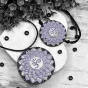 Komplet biżuterii sahasrara - bransoletka i wisiorek czakry