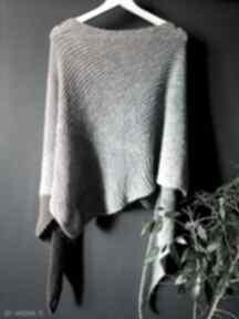 Duża chusta z merino szaliki the wool art szal, chusta, naszyję