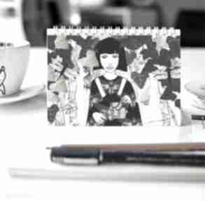 Zeszyt z autorską ilustracją notesy parallel world notes