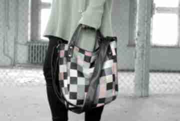 Miniks vegan mozaika na ramię manufakturamms torba, torebka