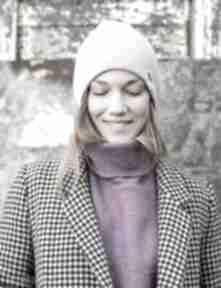 Czapa dwustronna logo kolorowe lavendowe love czapki brain