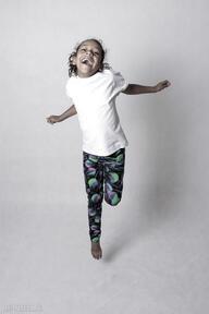 Legginsy dziewczęce violet ketu style dla dziecka, dziewczynki