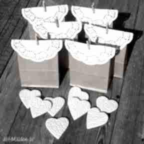 ślub Ceramiczne magnesy - podziękowania weselne