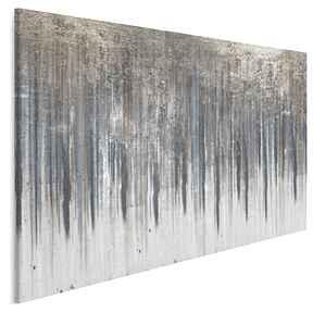 Obraz na płótnie - wzór niebieski złoty 120x80 cm 90401 vaku