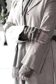 rękawiczkimitenki dodatki płaszcz rękawki prezent