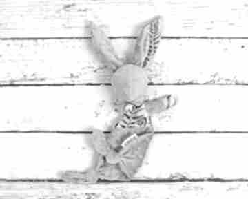Luluś królik - dla niemowląt paprocie dziecka nuvaart pierwsza