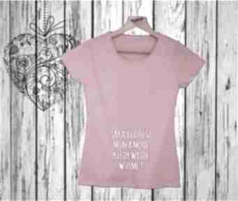 Manufaktura Koszulek. Koszulka z nadrukiem ciążowym, dla kobiety