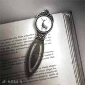 Zakładka do książki - jeleń 3 metalowa zakładki liliarts