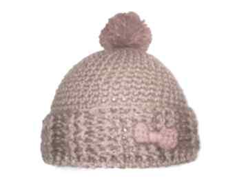 Czapka dziecięca, wełniana sheepystuff czapka, wełna,