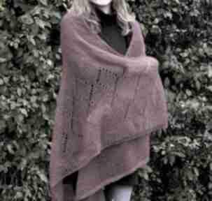 Chusta z mohairu i jedwabiu szaliki the wool art szal, chusta
