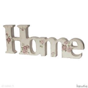 Różany domek - dekoracja dekoracje hanutka prezent, home, napis