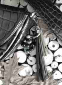 Brelok z kamieniami naturalnymi - rainforest iv breloki reveal