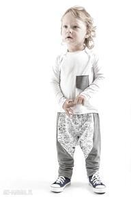 Megaa spodnie z duszkami gapula bawełna, duszki, ściągacz, krok,