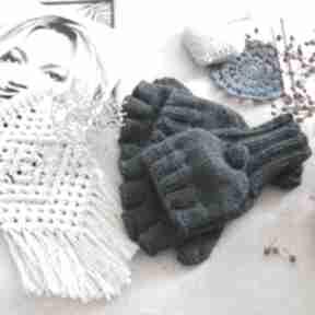 Bezpalczatki z klapką #16 rękawiczki mondu rękawiczki, męskie