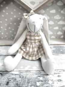ArtShopLalaShop! królik roczek przytulanka prezent chrzest
