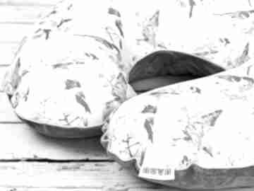 Duża poduszka do karmienia -wróble dla dziecka nuvaart poduszka