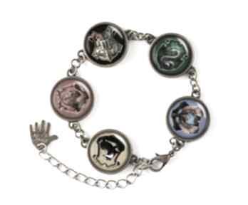 Harry potter bransoletka hogwart prezent magiczna ręcznie robiona
