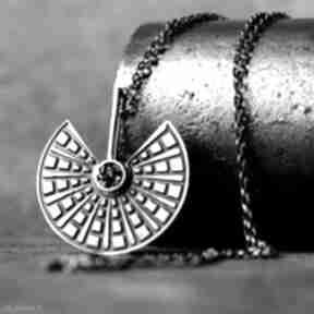 SHAMBALA: zawieszka-srebrna oksydowany-wisiorek